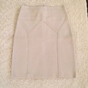 bebe Highwaisted Bodycon Mini Skirt SZ S/P NWT!